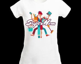Super Mom Shirt, Supermom Shirt, Mom Gift, Mothers Day Shirt, Super Hero Shirt, Gift for Mothers Day, Gift for Mom, Gifts Under 20, Mothers