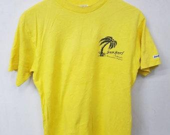 Vintage Sun Surf Aloha Authentic Hawaiian Styling T-shirt