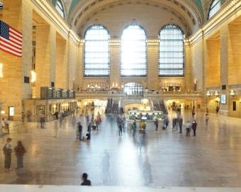 New York Grand Central Rush