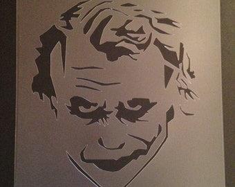 Joker Stencil (5mil Buy 2 Get 1 Free! Mix & Match)