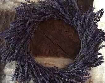 Round Lavender Wreath