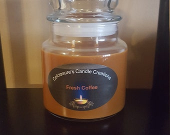 Fresh Coffee 16 oz soy candle