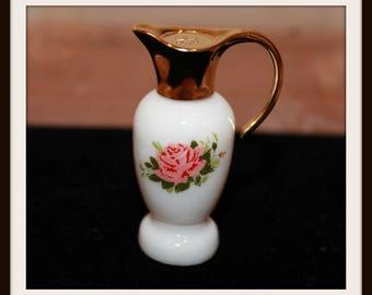 Vintage Avon Moonwind Perfume Bottle, Vintage Avon Parisian Garden Miniature Pitcher Perfume Bottle