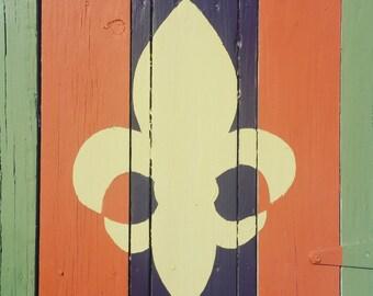 Fleur de Lis Photography Print, Fine Art Photography Print, Symbol of New Orleans Photography Print