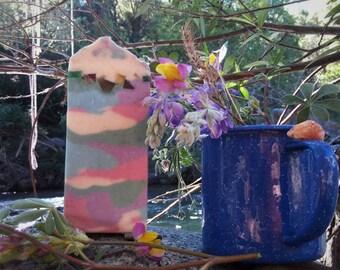 Big Rock Candy Mountain | Handmade Artisan Whipped Aloe Soap