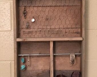 Custom made jewelry box/hanger/holder