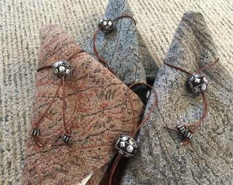 Artisan Napkin Rings - Set of 4