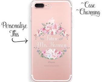 Future Mrs Phone Case iPhone 7 Case iPhone 7 Plus Case iPhone 6s Case iPhone 6s Plus Case iPhone 6 Case iPhone 6 Plus Case Bride iPhone Case