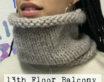 Hand Knitted ~ Snood ~ Cowl ~ Collar
