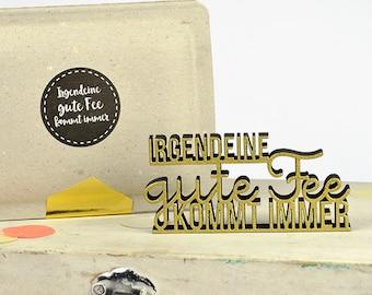 Some fairy godmother comes ever - 3 D miniature logo