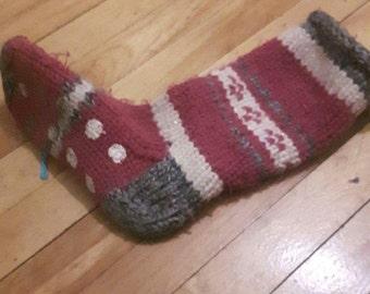 Acrylic wool sock