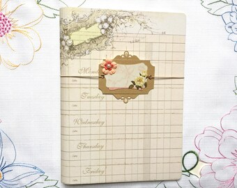 Midori Inspired Traveler's Notebook Cover, Planner Cover, Notebook, Journal