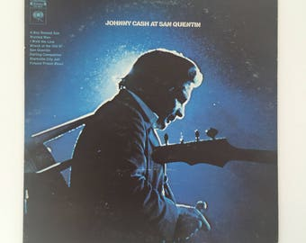 Johnny Cash: At San Quentin // Vintage LP