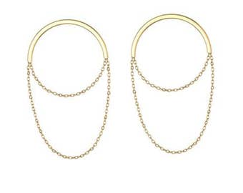 Selene Chain Earrings