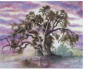 painting,oil painting ,wall painting,instant download,olive tree painting,,holy land painting,