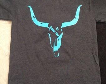 Long Horn Hammer Time T-Shirt