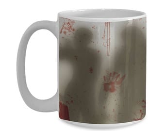 Zombie Apocalypse 15oz. Mug - Walkers In Your Mug