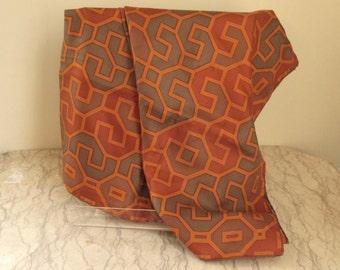 vintage Richard Allan silk scarf