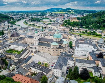 Salzburg Photography, Colour, Austria Photography, Wall Art, Cityscape, Fine Art Photography, Photographic Print, Salzburg Photo