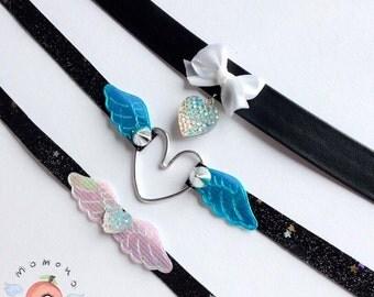 pretty shiny collars