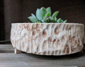 Small ceramic planter, succulent planter, bonsai pot