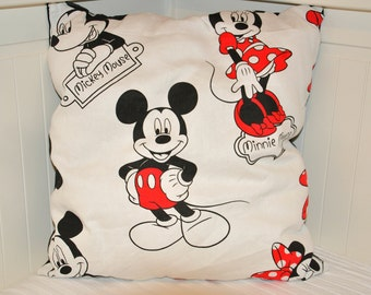 Minnie and Mickey Cushion