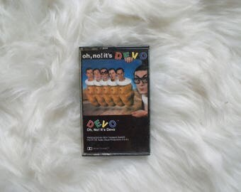 Oh, no! It's Devo! Cassette Tape
