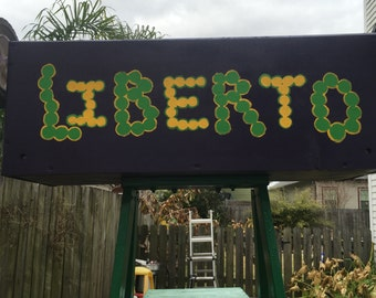 Throw Me Something Mister Mardi Gras Ladder or Name Sign