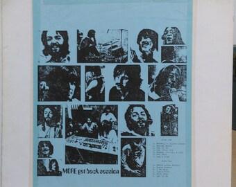 Beatles Rare Bootleg Lp More Get Back Session McCartney Lennon Starr Harrison