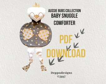 PDF DOWNLOAD Baby Snuggle Comforter/security toy pattern