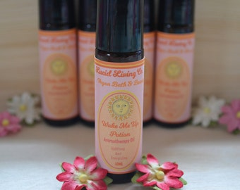Wake Me Up Potion, Roll-On Aromatherapy Oil, Helps With Waking Up, 10 ml glass bottle, Vegan, Fragrance