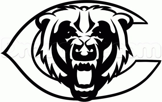 Vinyl Decal Sticker - Chicago Bears Decal for Windows, Cars, Laptops, Macbook, Yeti, Coolers, Mugs etc