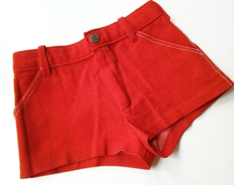 6-7Y HipSter shorts 122/128 retro VinTage design kids of old school trousers