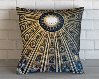 Dome at St Peters Basillica Pillow