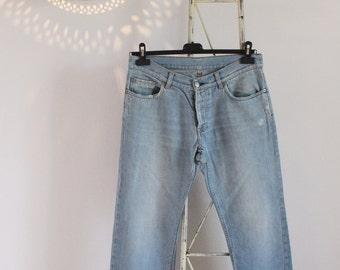 90s Helmut Lang vintage men's jeans