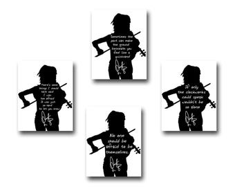 4 Lindsey Sterling Quote Art Prints