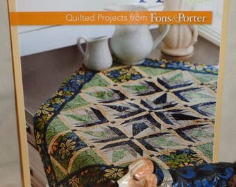 Table Toppers Quilted Projects by fons & Porter - Free Shipping
