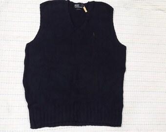 vintage POLO RALPH LAUREN vest jacket pullover M