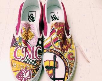 Claremont McKenna College Custom Sneakers