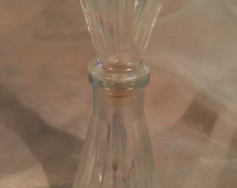 Vintage Irredescent Perfume Bottle