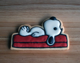 Snoopy on the House Cookie Cutter and Stamp