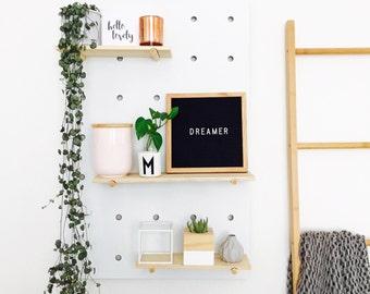 Oak Frame Letter Board 25cm x 25cm