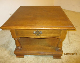 Solid Maple End Table - Ethan Allen