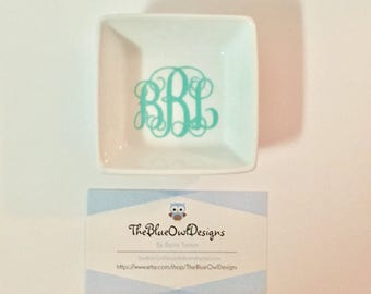 Personalized Ring Tray