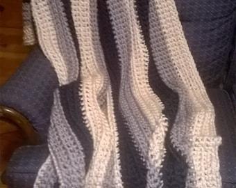 Handmade Super Soft Striped Blanket