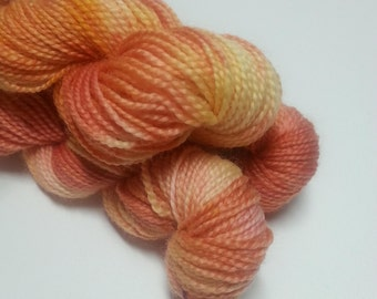 Pollen - Hand Dyed Merino Wool - Sock Weight Miniskein