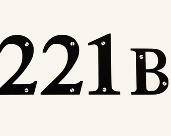 Sherlock 221B Vinyl Sticker