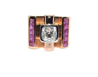 Ring Tank 1940 - diamond 1, 40