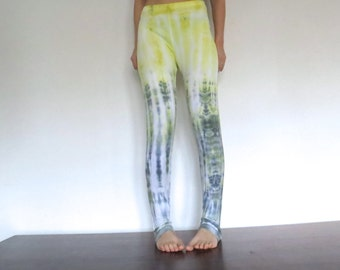 Leggings * crazy giraffe * size M/L tie dyed leggings, pants, yoga pants, yoga leggings