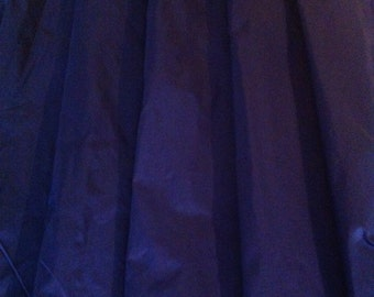 Blue Pure Silk Taffeta 1.30 meters